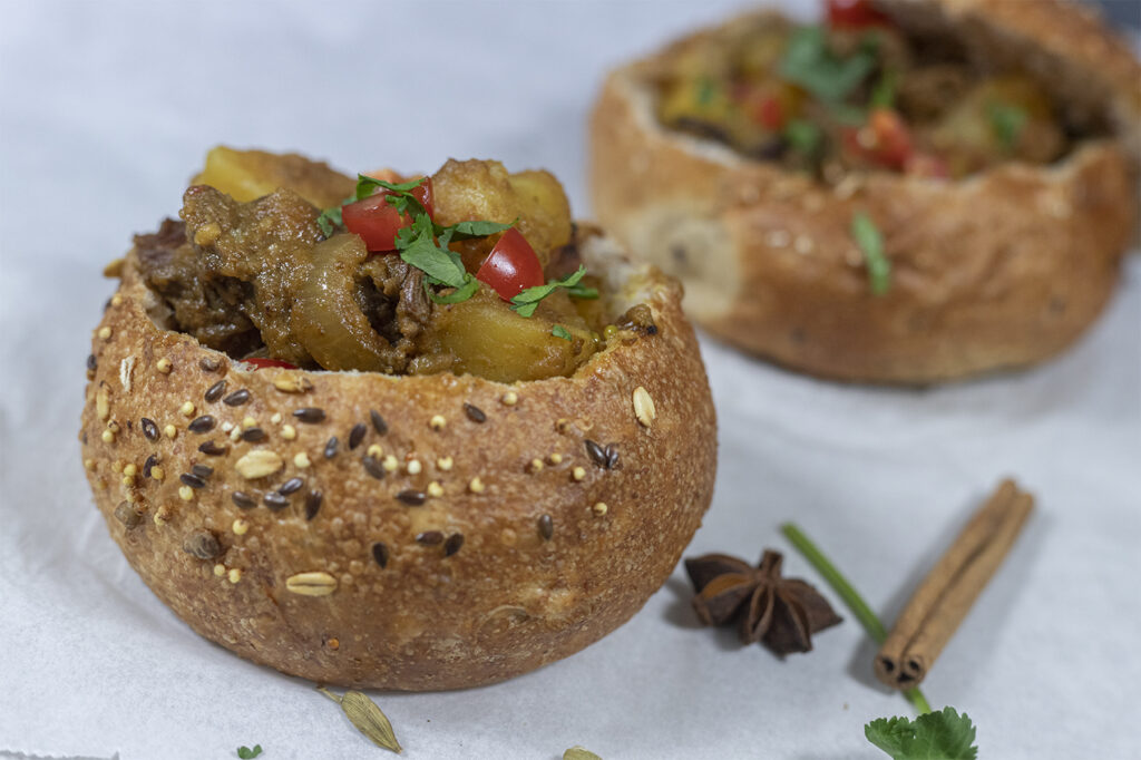 Bunny Chow Rundvlees
